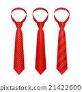 red, necktie, set 21422600