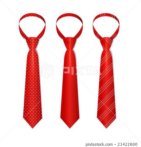Tie Set. Vector 21422600