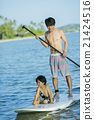 小朋友 站起來的槳板 海洋體育 21424516