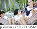 육아를하는 부모와 자식 21424568