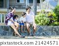 父母和小孩 親子 夏威夷 21424571