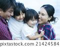 父母和孩子住在夏威夷 21424584