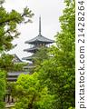 Horyu-ji Temple in Nara, Unesco world Heritage 21428264