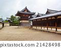 Horyu-ji Temple in Nara, Unesco world Heritage 21428498