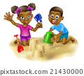 Children on the Beach 21430000