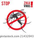 Zika virus graphic design elements. 21432043