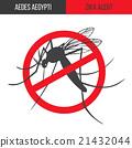 Zika virus graphic design elements. 21432044