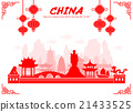 China Travel Landmarks. 21433525