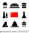 China Landmarks Icon Set. 21433527