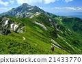 북 알프스 · 抜戸岳에서 원하는 笠ヶ岳 21433770
