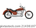 motorcycle vector illustration 21436107