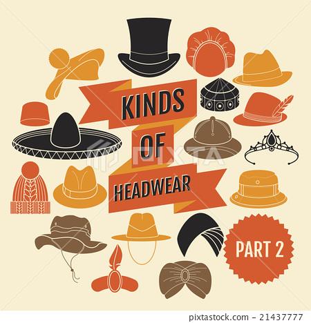 Kinds of headwear. Part 2.  21437777