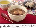 红豆汤 甜点 甜品 21439070