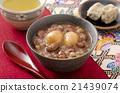 红豆汤 甜点 甜品 21439074