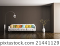 Interior of living room 3d rendering 21441129