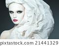 beautiful girl fashion portrait 21441329