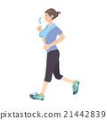 奔跑 女性 女 21442839