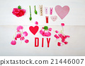 DIY text with clothespins and carnations 21446007