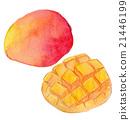 芒果 水果 食物 21446199