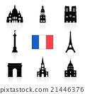 Paris, France Travel Landmarks. 21446376