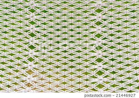 Closeup of white hammock 21446927