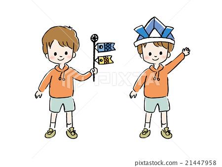 children s day boys day baby boy stock illustration 21447958