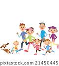 奔跑 家庭 家族 21450445