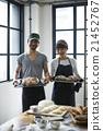 夫婦 麵包 擁有者 21452767