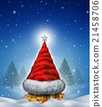 Christmas Hat Tree 21458706