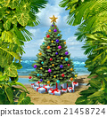 Christmas Tree Beach Celebration 21458724