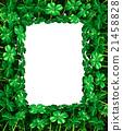 Clover Leaf Frame border 21458828