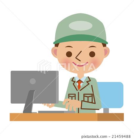 blue collar worker, laborer, staff 21459488
