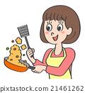 主婦 家庭主婦 女性 21461262