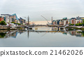 View of Samuel Beckett Bridge in Dublin, Ireland 21462026