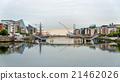 View of Samuel Beckett Bridge in Dublin, Ireland 21462026