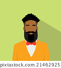 Business Man Profile Icon African American Ethnic 21462925