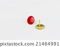 thumbtacks isolated on white background 21464991