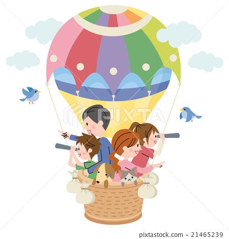 가족 풍선 21465239
