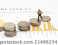 businessman on coins,finance and business concept  21466234
