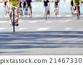 自行車 腳踏車 路面 21467330