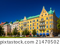 Buildings in the city centre of Helsinki - Finland 21470502