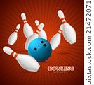 Bowling Concept. Vector 21472071