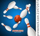 Bowling Concept. Vector 21472073