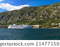 """Cruise ship  """"Ocean Majesty"""" in the Bay of Kotor 21477150"""