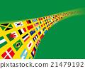 ธงสีบราซิลของโลก 21479192