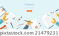 Vector illustration. Flat header. Medical 21479231