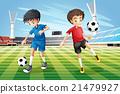 kicking, illustration, graphic 21479927
