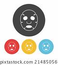 Facial mask icon 21485056
