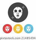 Facial mask icon 21485494