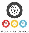 Billiards icon 21485908